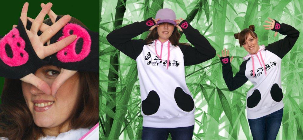 Дизайнерская молодежная одежда. Ищем активного организатора СП! Panda-afacdb